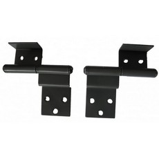Cranked Hinge - Powder Coated
