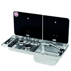 CAN 2 Burner Hob/Sink Combination Unit (FL1401/FL1402)