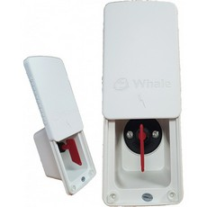 Whale EASI Slide Isolator Switch Complete White