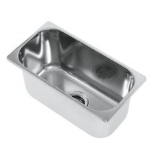 CAN LA1404 Rectangular Semi-polished Sink