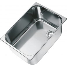 CAN LA1400 Rectangular Semi-polished Sink