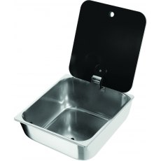 CAN LR1760 Rectangular Sink with Glass Lid
