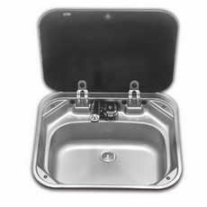 Dometic/SMEV (8005) Sink SNG4237 with Glass Lid (420 x 370 mm)