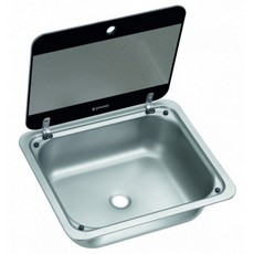 Dometic/Cramer Sink SNG4133 with Glass Lid (410 x 335 mm)
