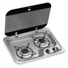 Dometic/Cramer CE99-ZF460-I-G Two Burner Hob