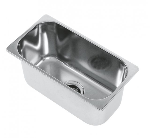 CAN Hobs & Appliances CAN LA1404 Rectangular Semi-polished Sink