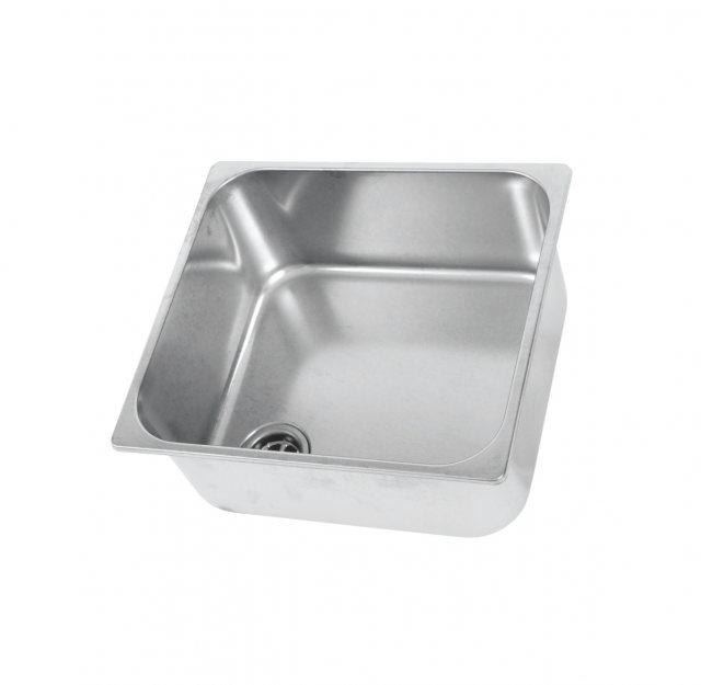 CAN Hobs & Appliances CAN LA1402 Rectangular Semi-polished Sink