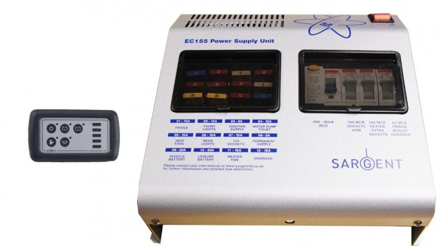 Sargent Sargent EC155 Power Supply Unit with Charger