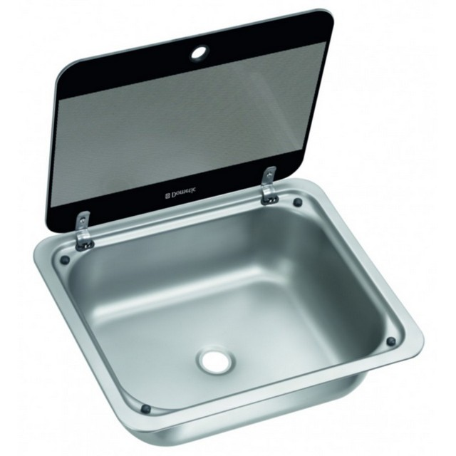 Dometic Dometic/Cramer Sink SNG4133 with Glass Lid (410 x 335 mm)