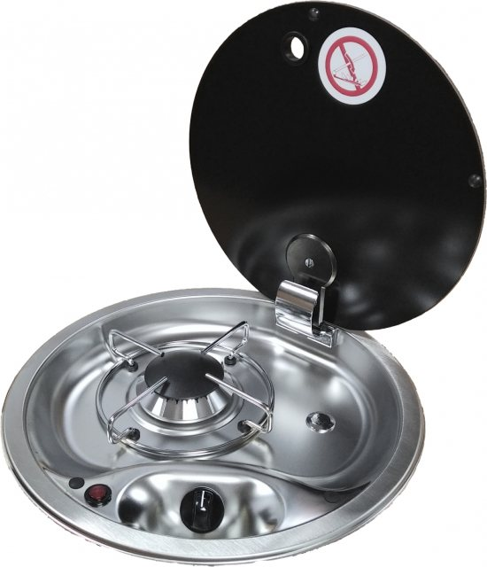 CAN  CAN FC1345 Round Single Burner Hob - Temporarily Out of Stock