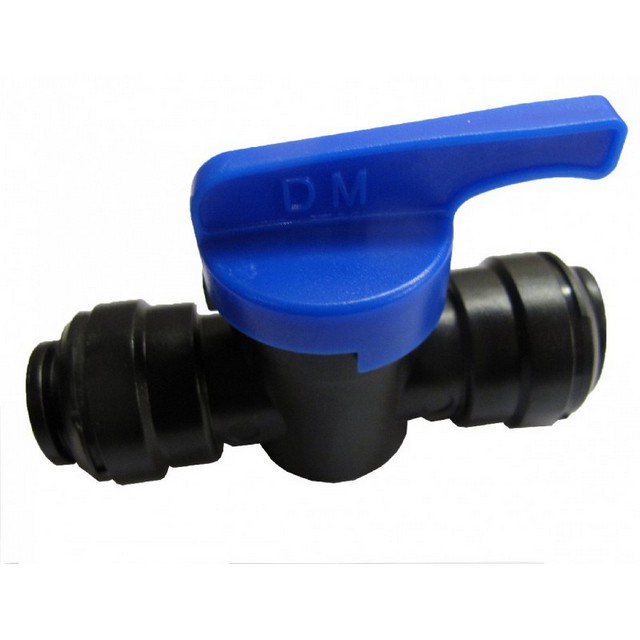 W4 Push Fit Shut Off Valve 12 mm